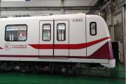 我国首列出口伊斯坦布尔无人驾驶地铁在湖南株洲下线