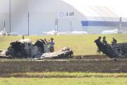 """恒行2娱乐app:美国一架""""空中国王""""飞机冲出跑道起火 飞行员丧生"""